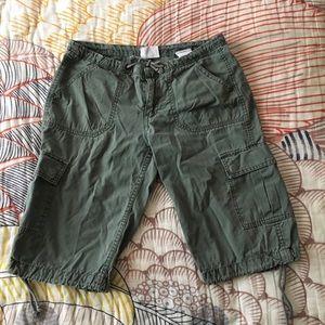 Vintage H&M Cargo Shorts size 8